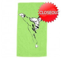 Velour Beach Towel Colored